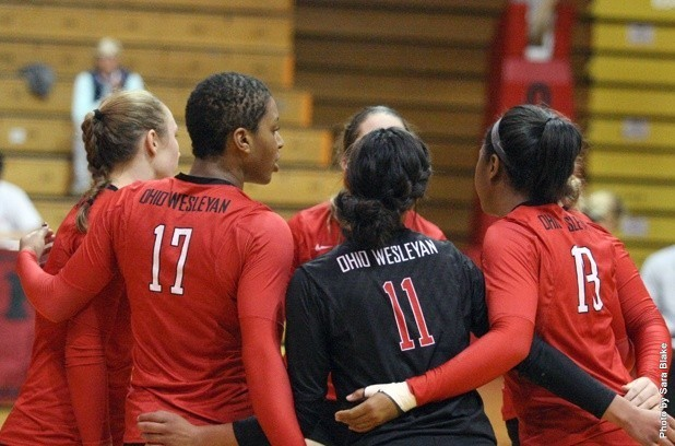 Ohio Wesleyan volleyball